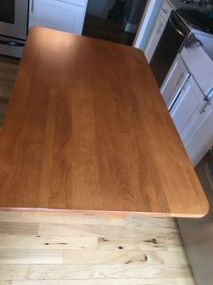 Dining room table 35.5 x 60