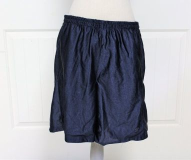 Starter Large 36 38 Navy Blue Mesh Shorts Athletic Gym Basketball Pockets