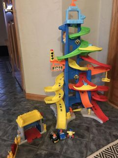 Little People Racer Tower