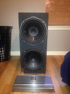 ROCKFORD FOSGATE P2 12s In BOX WITH AMP