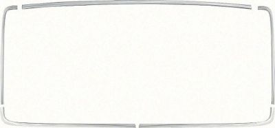 Purchase OER 1965 1966 Impala Rear Window Molding Set 2 Door Hardtop motorcycle in Huntington Beach, California, United States, for US $178.95
