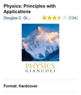 Physics Principles with Applications, Giancoli, Douglas C.