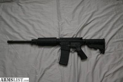 """For Sale: Bushmaster AR-15 Semi Auto Rifle 5.56 NATO 16"""" Barrel"""