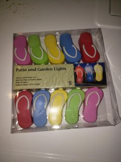 Patio and garden lights