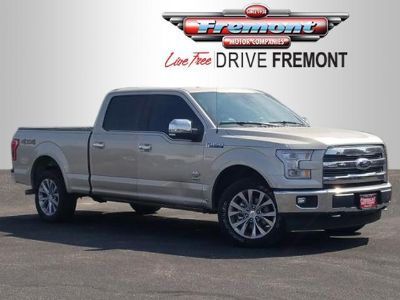 2017 Ford F-150 King Ranch 4WD SuperCrew 6.5' (White Gold)