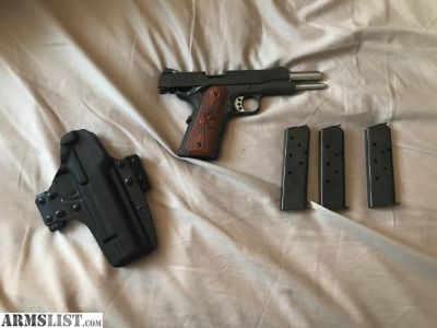 For Sale: Springfield 1911 A1 Loaded