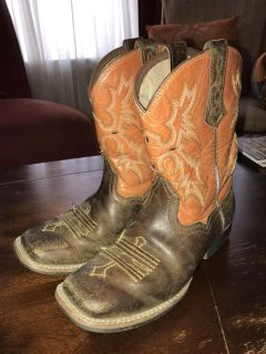 Ariat child boots, size 1, $20, Ardmore