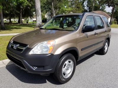 2004 Honda CR-V LX (Gold)