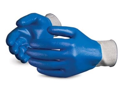 NEW-Superior S13SXFCNT Superior Touch Dyneema String Knit Glove with Fully Nitrile Coated, Work