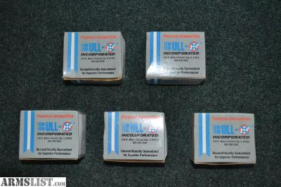 For Sale: **9MM Shells 5 Boxes Bull X Incorporated / 50 Ct. per Box.