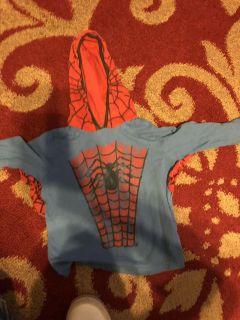 Spider-Man ls shirt with hood