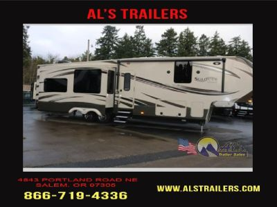 Used 2014 Grand Design Solitude 369RL-Trailer RV