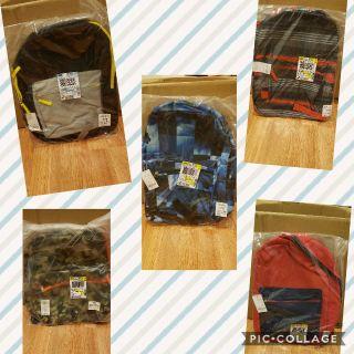 Brand New Backpacks - Unisex