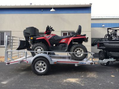 "2019 Eagle Trailers 60x120"" w/13"" radials, 13"" aluminum wheels & Swivel front jack Trailer North Mankato, MN"