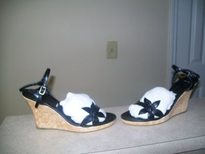 womens size 8 Wedges Sandals and Shoes