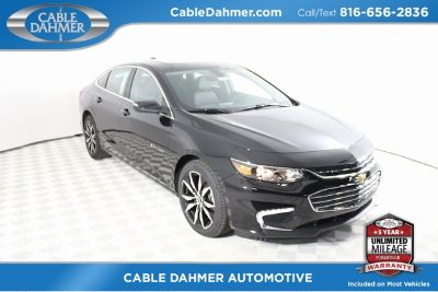 2018 Chevrolet Malibu LT (Black Metallic)