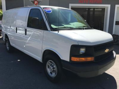 "2017 Chevrolet Express Cargo Van RWD 2500 135"" (White)"