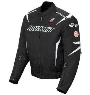 Find XL Joe Rocket Black White Mens UFO Solid Jacket motorcycle in Ashton, Illinois, US, for US $179.99