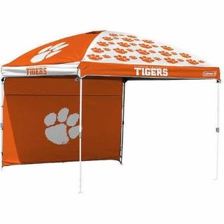 Tigers Coleman NCAA 10 x 10 Dome Canopy with Wall.