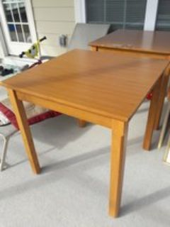 2 Square Tables