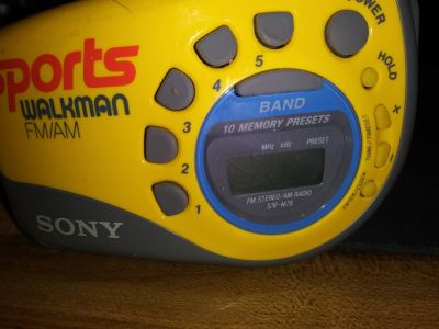 Sony Sports Jogging radio