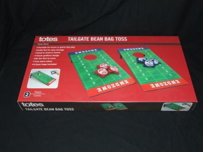 Totes Tailgate Bean Bag Toss Mini Cornhole Game NEW