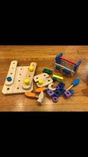 Mickey Mouse Melissa and Doug wooden tools