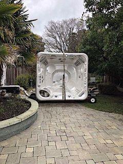 Spa Hot Tub Moving & Disposal Services (Los Gatos)