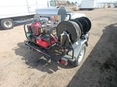 4,300 PSI Hot Water Pressure Washer Trailer RTR# 9021502-01