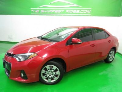 2015 Toyota Corolla S Leather* BackUp Cam* 1_Owner_CarFax!