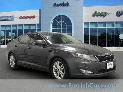 2011 Kia Optima EX Turbo (Platinum Graphite)