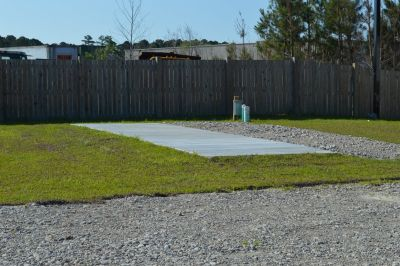 Camper sites Monthly lot space $ 375.00 monthly Call 910-389-7710