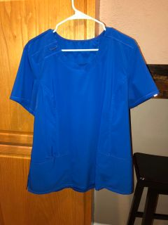 Cherokee Infinity Scrubs Round Neck Antimicrobial Top Style # IN2624, XL