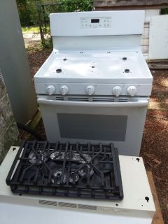 New gas stove