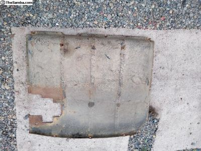 60-66 Splash Pan Pedal Cover