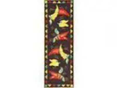 Ottomanson Siesta Collection Kitchen Hot Peppers Design (Machine