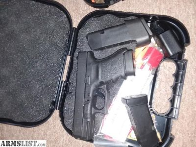 For Sale: Glock 23 n 30s.like new.by 7pm each one is 350$.call me