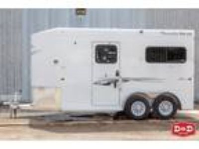 2019 Trails West Royale Plus 2 Horse Side By Side Trailer 2 horses