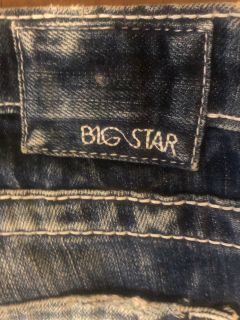 Like new big star jeans size 33