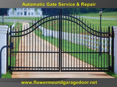 Expert Automatic Gate Repair Flower Mound, TX | 972-402-5550 | Same Day Service