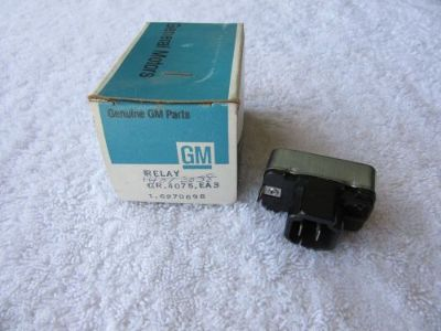 Sell NOS 1973-1975 Chevrolet Olds Control Vacuum Advance Delay Relay GM 6270698 dp motorcycle in Hays, Kansas, United States, for US $65.00