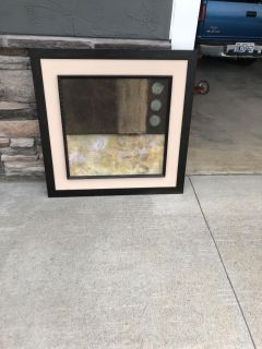 Large Canvas framed Picture