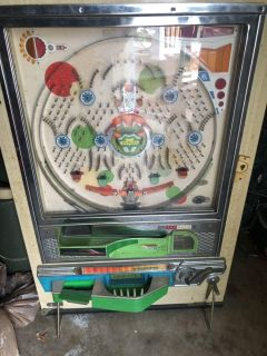 Used Pachinko machine with balls as is