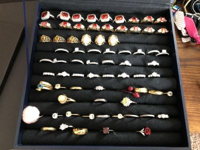 Buxton design rings size 10