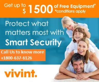 Guaranteed $1500 free home security equipment. +1800-637-6126