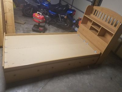 Capitans bed and dresser