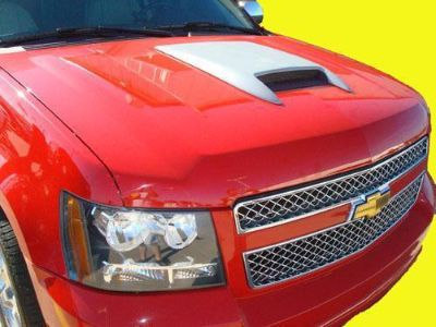 Purchase Chevrolet Tahoe Primer Hood Scoop w/ ABS Plastic Grill motorcycle in Grand Prairie, Texas, US, for US $142.99