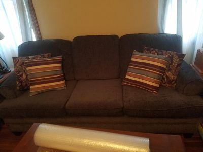 Livingroom furniture - couch and loveseat