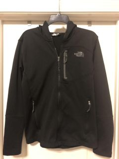 Men s Northface jacket with hood- size small