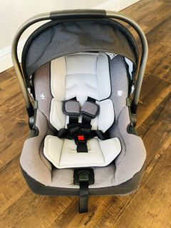 Nuna Pipa Jett Collection infant car seat and bassinet